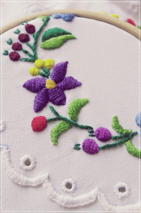 ハンガリー刺繍1